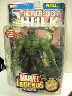 Marvel Legends Series 1 Incredible Hulk Figure Straight Finger Ver Toy