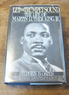 Martin Luther King Let Trumpets Sound Oates Signed 1st
