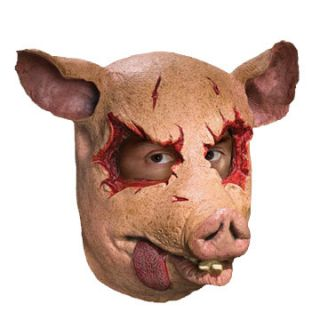 Latex Mask Farm Animal Mask Scary Horror Halloween Props Masks