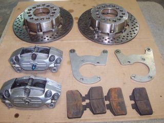 Mark Williams 9 FORD Rear Brake kit, big bearing,calipers,rotors