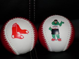 Boston Red Sox Mascot Logo Baseball Rawlings MLB