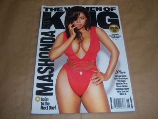 of King Magazine May/June 2011 Mashonda, Yaris Sanchez, Jennifer Skye