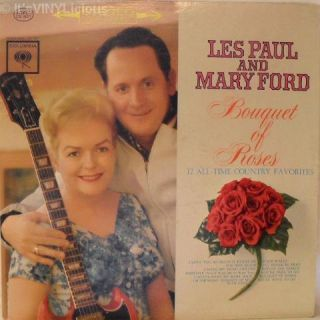 Les Paul Mary Ford Bouquet of Roses 1962 Demo LP Hear