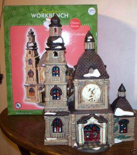 Santas Workbench St Marys Cathedral MSRP $30 NIB