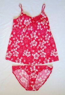 Motherhood Maternity Size Large L Tankini Swimsuit Floral $68