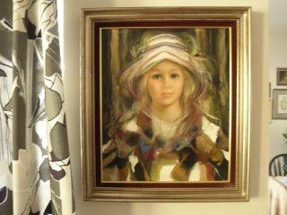 Beautiful Francisco Masseria Original Oil Painting