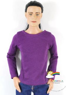 17 Tonner Matt ONeill Outfit Long Sleeves Tee Purple