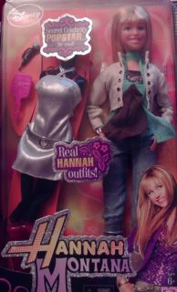Hannah Montana real Hannah outfits secret celebrity pop star Barbie