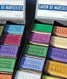 125gr High Quality French Savon de Marseille Soap 12 Fragrances
