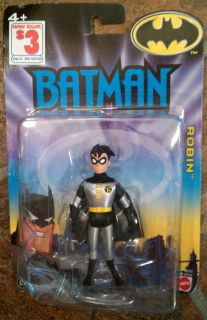 in Silver Costume The Batman Animated Series 2005 Mattel Action Figure