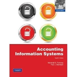 Accounting Information Systems by Marshall B Romney and Paul Steinbart