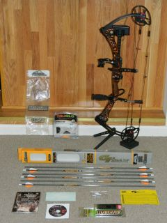 Pristine 2012 Mathews MR7 Bow Loaded w New Accessories Monster 344 IBO