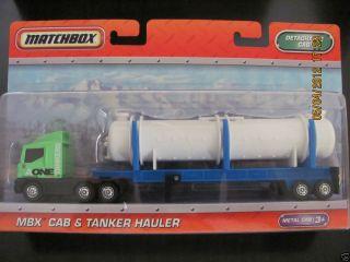 Matchbox Super Convoy MBX Cab Tanker Hauler Semi Big Rig N3243 NIB