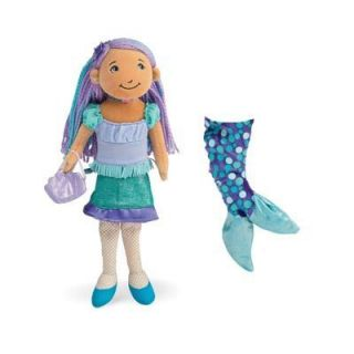Mattie the Mermaid, like all Groovy Girls dolls, stands at a mighty 13