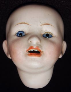 Morimuro Brothers Bisque Doll Head