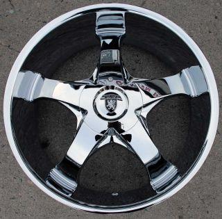 Von Max VM04 22 Chrome Rims Wheels Ford Ranger 22 x 9 5 5H 15