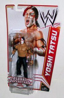 WWE Wrestling Global Superstars Series Japan Yoshi Tatsu Mattel