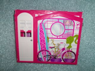 Mattel Barbie Vacation House Used Doll House Play Pretend