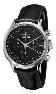 Maurice Lacroix Mens Les Classiques Chronographe Strap Watch LC1008
