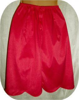 Vintage VANITY FAIR S Tricot Coral Pink Half Slip Petticoat w