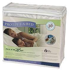 Protect A Bed Allerzip Terry Cloth Mattress Encasement