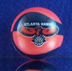 NBA Mini Basketball Cake Topper Atlanta Hawks