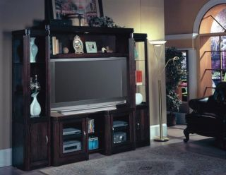 Premier Maybrook 4 Piece x Pandable Wall Unit Entertainment Center PMA