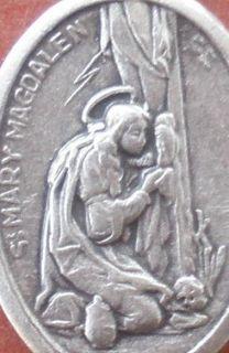 Saint St. MARY MAGDALEN Magdalene Medal + Converts + Devotion to Jesus