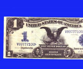 Vernon / McClung $1 1899 RARE SIGNATURE BEAUTY HIGH GRADE MAKE N OFFER