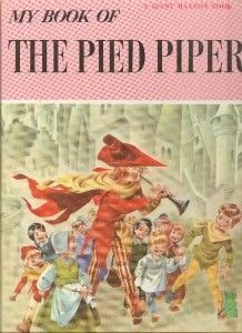 My Book of The Pied Piper Giant Maxton Book Fairy Tale