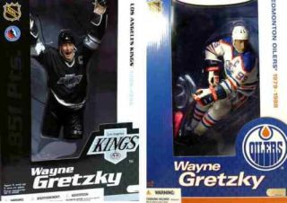 McFarlane Sports NHL Hockey 12 Inch Series 1 Wayne Gretzky Figure Set