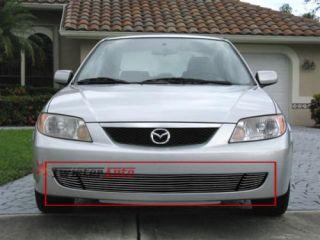 Billet Grille Insert 2001 2002 2003 Mazda Protege Front Grill Bumper