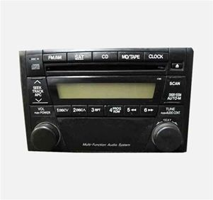05 2005 06 2006 Mazda Tribute Single Disc CD Player Radio