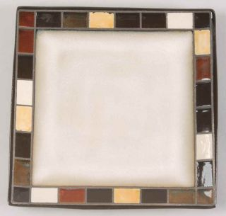 Home Trends Mosaic Tile Salad Dessert Plate 7714475