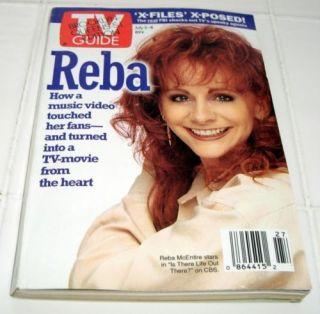 1994 Reba McEntire x Files TV Guide Magazine GFS