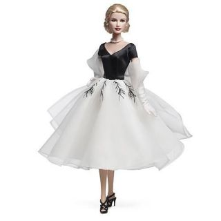 Mael 2011 Grace Kelly Rear Window Collecible Barbie Doll