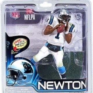 McFarlane NFL 31 Cam Newton Panthers White Jersey Chase Variant