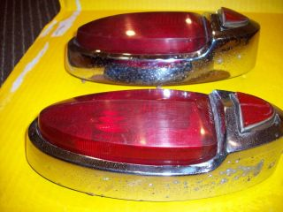 DODBB Tail lights and bezels Coronet Meadowbrook Royale Hot rat rod