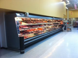 Used Open Multi Deck Meat Case Ready to Go Sale