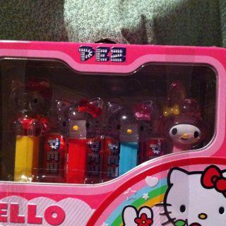 Hello Kitty 4 Collectible Pez Dispensers
