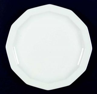 Rosenthal Polygon White Dinner Plate 1208873