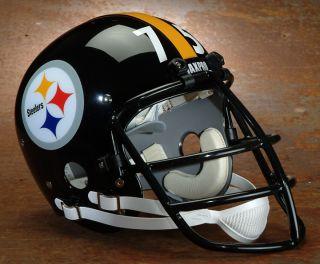 Pittsburgh Steelers Maxpro Helmet Decal Mean Joe Greene