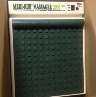 Mint Condition Medi Rub Massager 2000 Plus Electric Foot Massager Made
