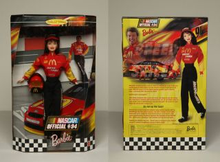 NASCAR 94 McDonalds Barbie Doll Collectible