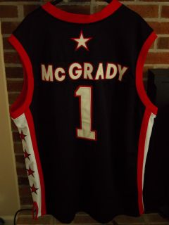 School Yard Legends Tracy McGrady 1 Mount Zion H S Jersey All Sewn Sz