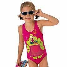 New  Lizzie McGuire 1 PC Swimsuit Swim Suit w Pocket Girls