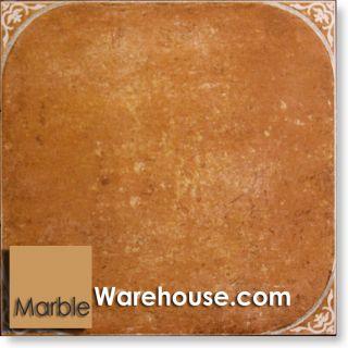 17 3 4x17 3 4 Spanish Medici Rojo Porcelain Tile for Flooring