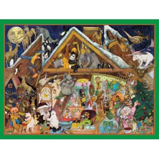 Party Al Lorenz Christmas Theme 500 PC Jigsaw Puzzle Sunsout