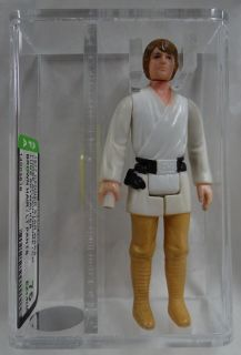Vintage 1977 Kenner Star Wars Luke Skywalker Loose AFA Graded 75