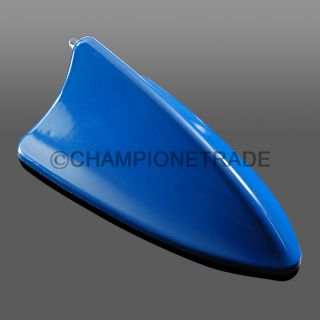 BMW Shark Fin Dummy Antenna Car Aerial Medium Blue Decoration